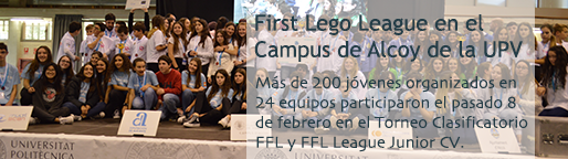 First Lego League en el Campus de Alcoy