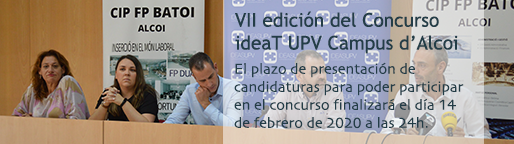 Concurso ideaT UPV Campus d'Alcoi