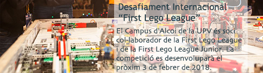 "Desafiament internacional ""First Lego League"""